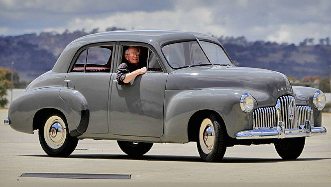 Musuem Restores First Holden 48 215 Car News Carsguide