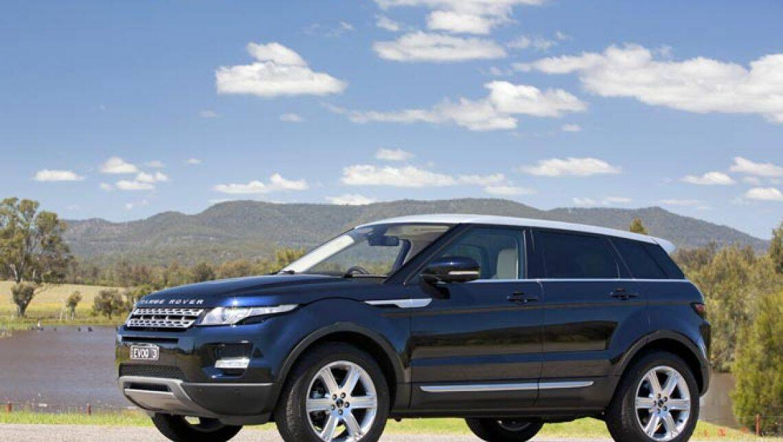 Range Rover Evoque Review Car Reviews Carsguide