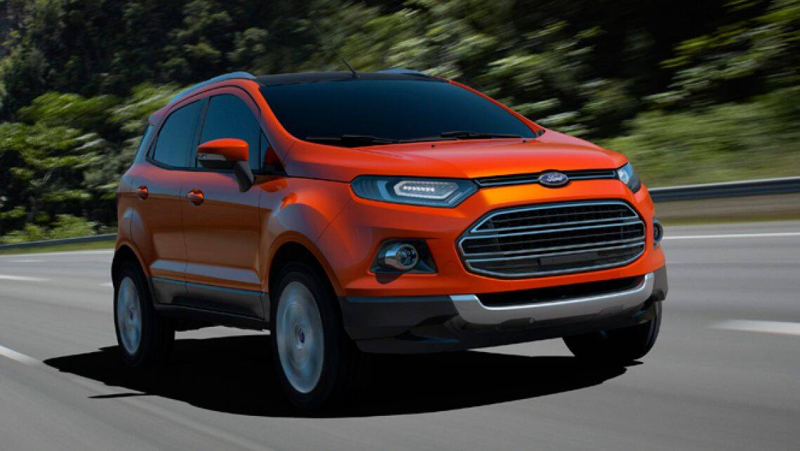 ford ecosport compact suv at 22 000 car news carsguide. Black Bedroom Furniture Sets. Home Design Ideas