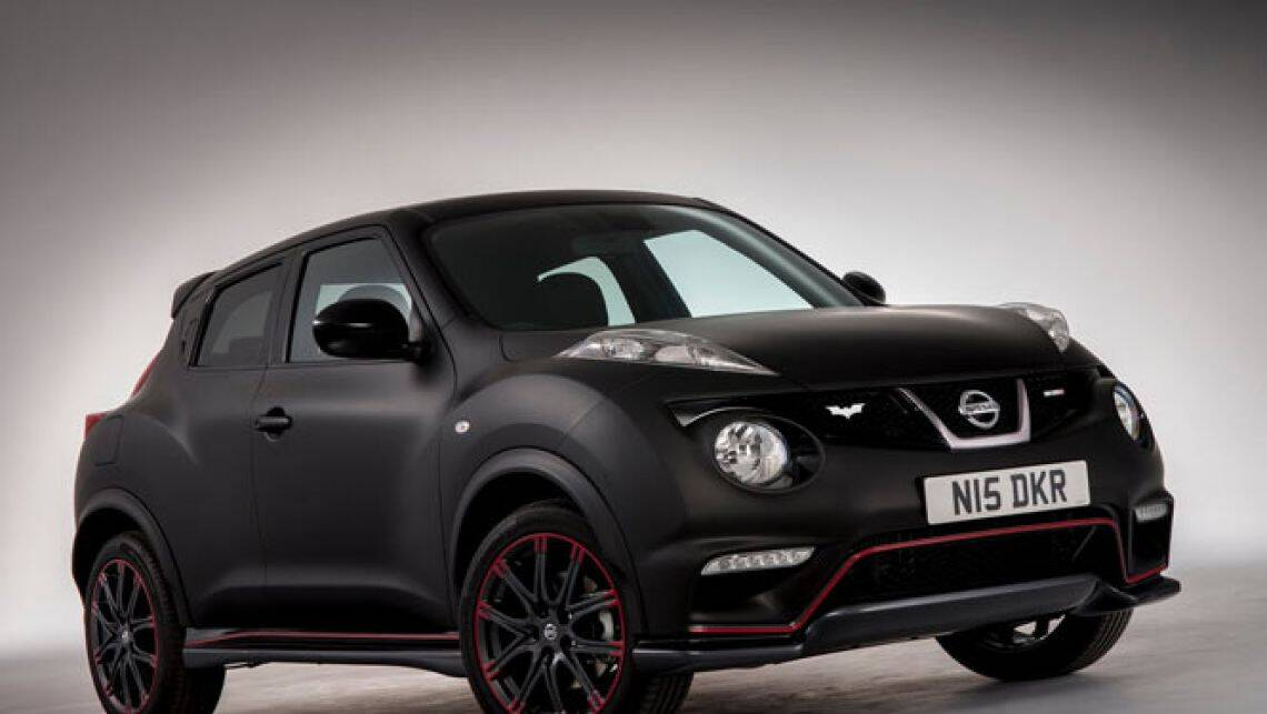 nissan juke nismo dark knight version car news carsguide. Black Bedroom Furniture Sets. Home Design Ideas