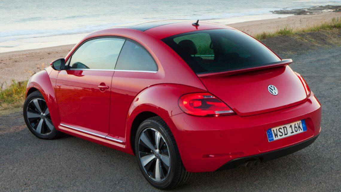 new new vw beetle review carsguide. Black Bedroom Furniture Sets. Home Design Ideas