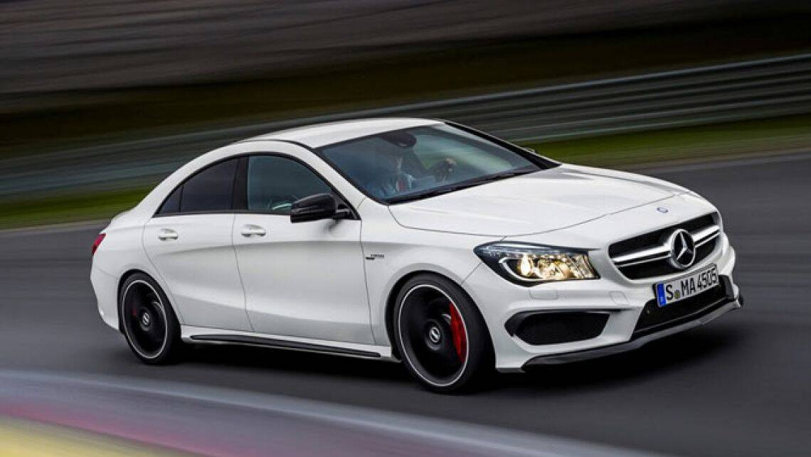 mercedes benz cla45 amg images leaked car news carsguide. Black Bedroom Furniture Sets. Home Design Ideas