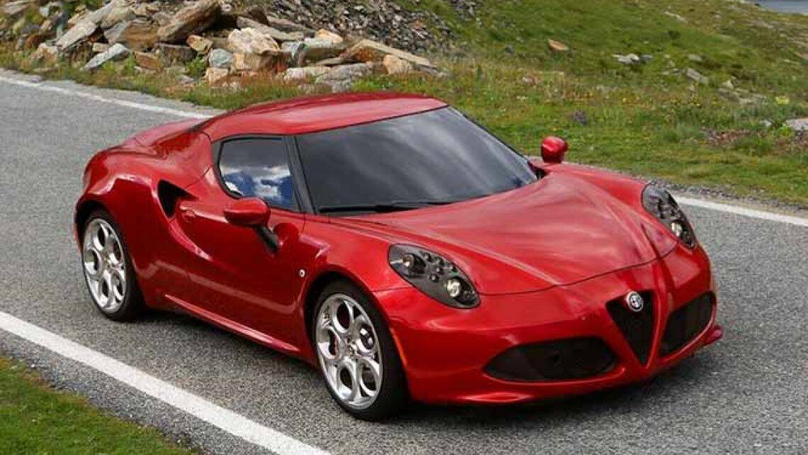 2014 alfa romeo 4c review carsguide. Black Bedroom Furniture Sets. Home Design Ideas