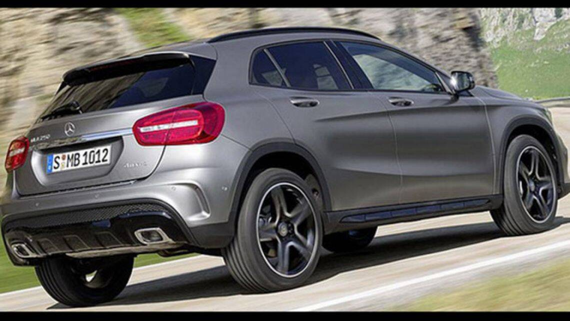 2014 mercedes gla class review car reviews carsguide. Black Bedroom Furniture Sets. Home Design Ideas