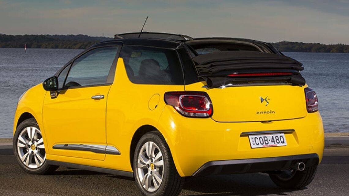 citroen ds3 convertible review car reviews carsguide. Black Bedroom Furniture Sets. Home Design Ideas
