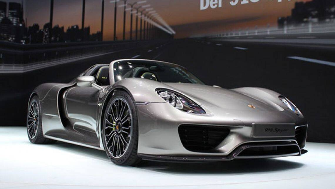 build your own porsche 918 spyder online car news carsguide. Black Bedroom Furniture Sets. Home Design Ideas