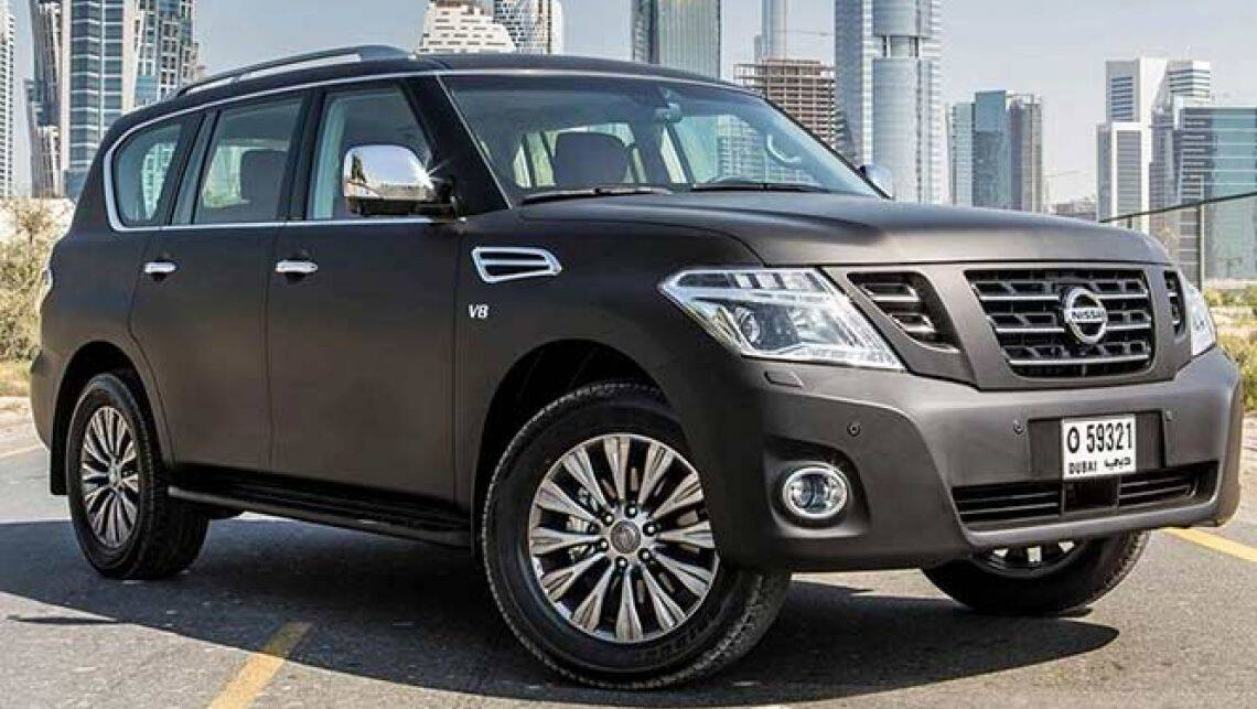 2014 nissan patrol update spied car news carsguide. Black Bedroom Furniture Sets. Home Design Ideas