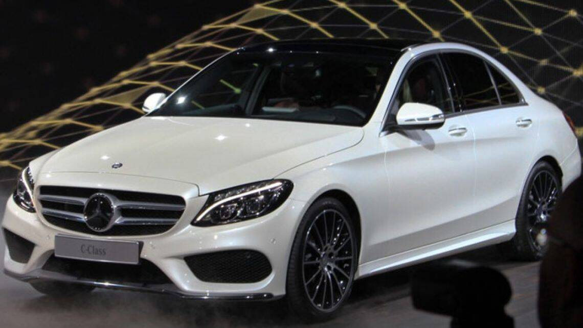2015 mercedes c class unveiled car news carsguide for New 2015 mercedes benz c class