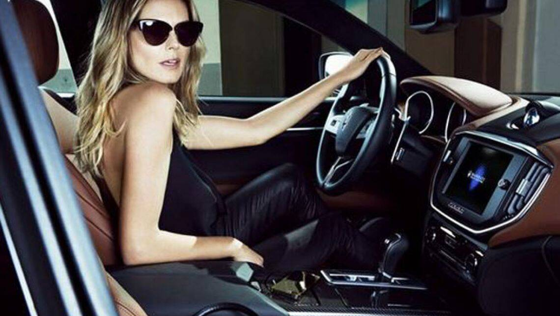 Heidi Klum teams with Maserati for SI swimsuit issue - Car ...