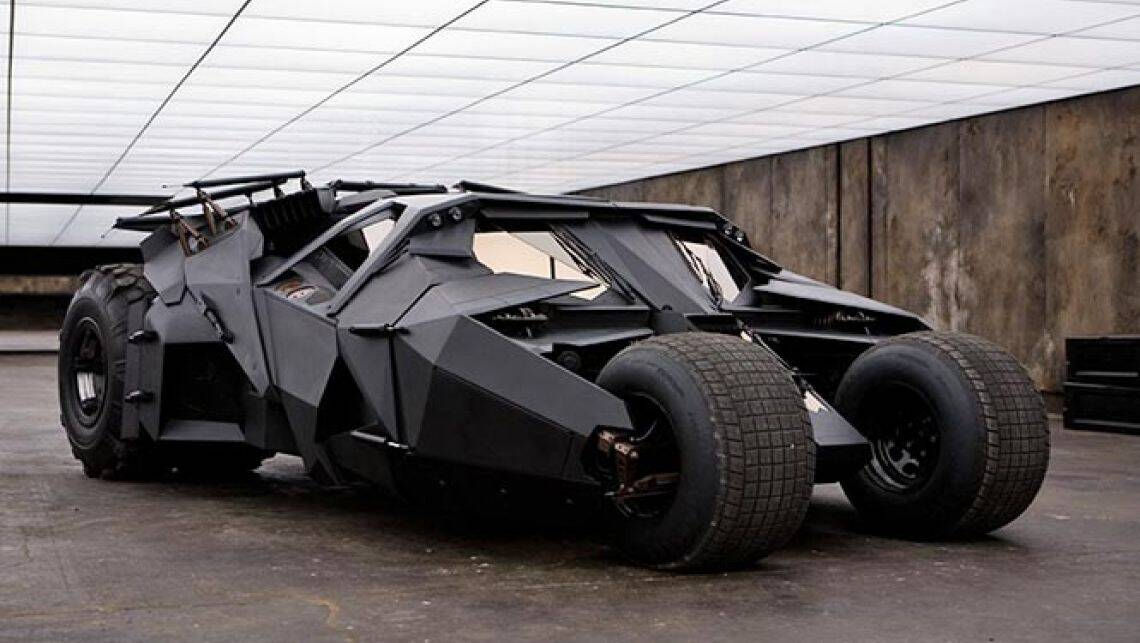 2016 Batmobile Teased Car News Carsguide