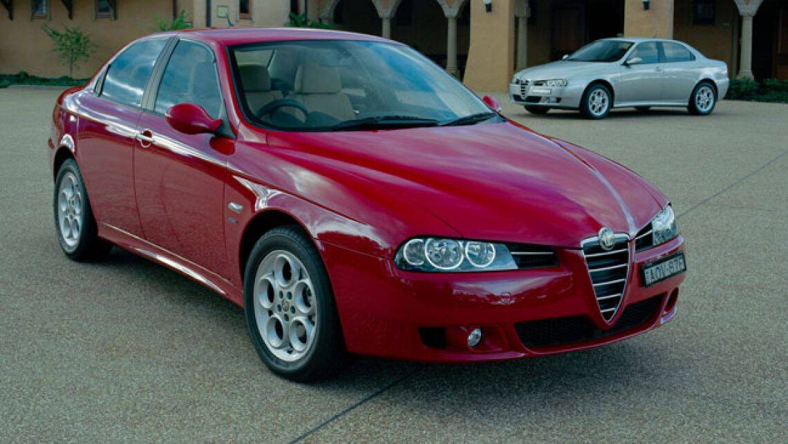 alfa romeo 156 used review 1999 2006. Black Bedroom Furniture Sets. Home Design Ideas