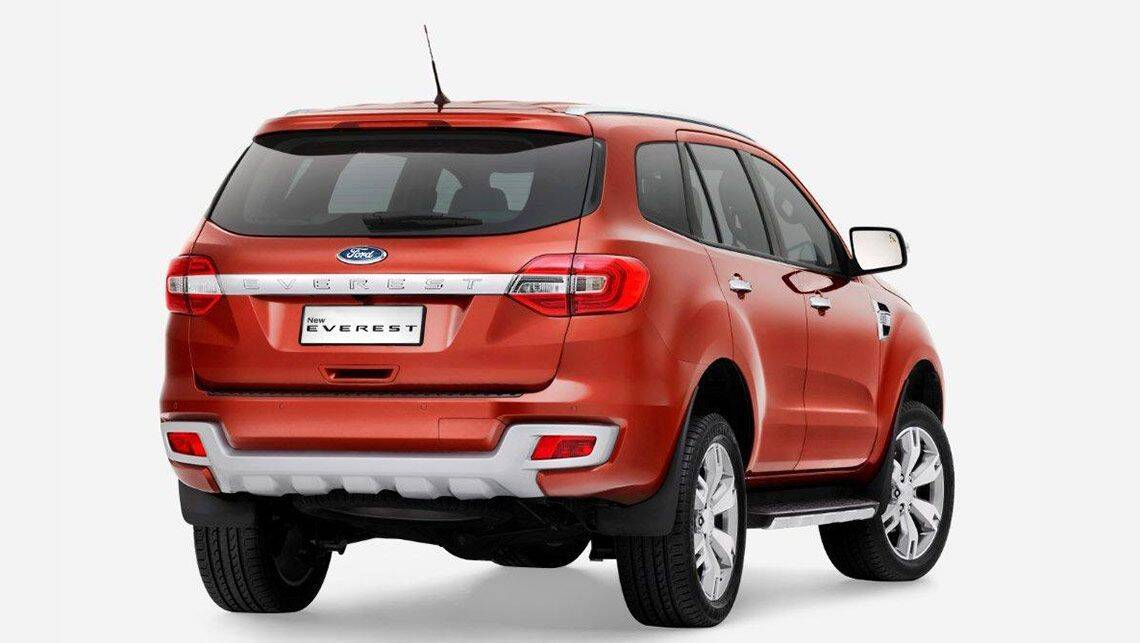2015 Ford Everest Revealed Car News Carsguide
