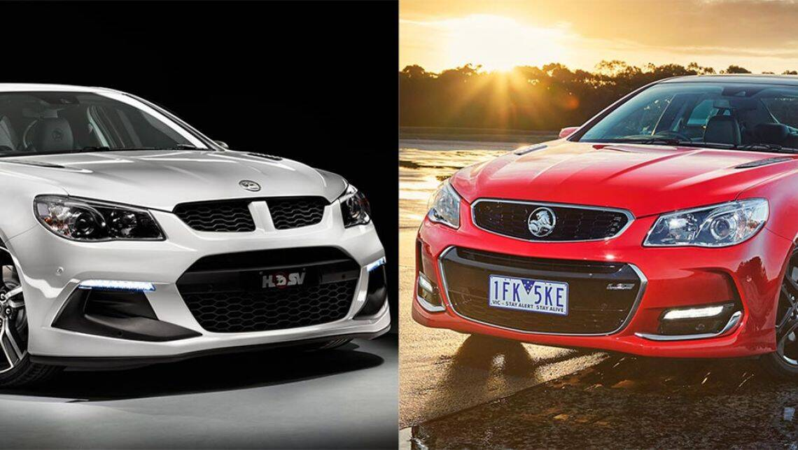 hsv clubsport vs holden commodore ss review