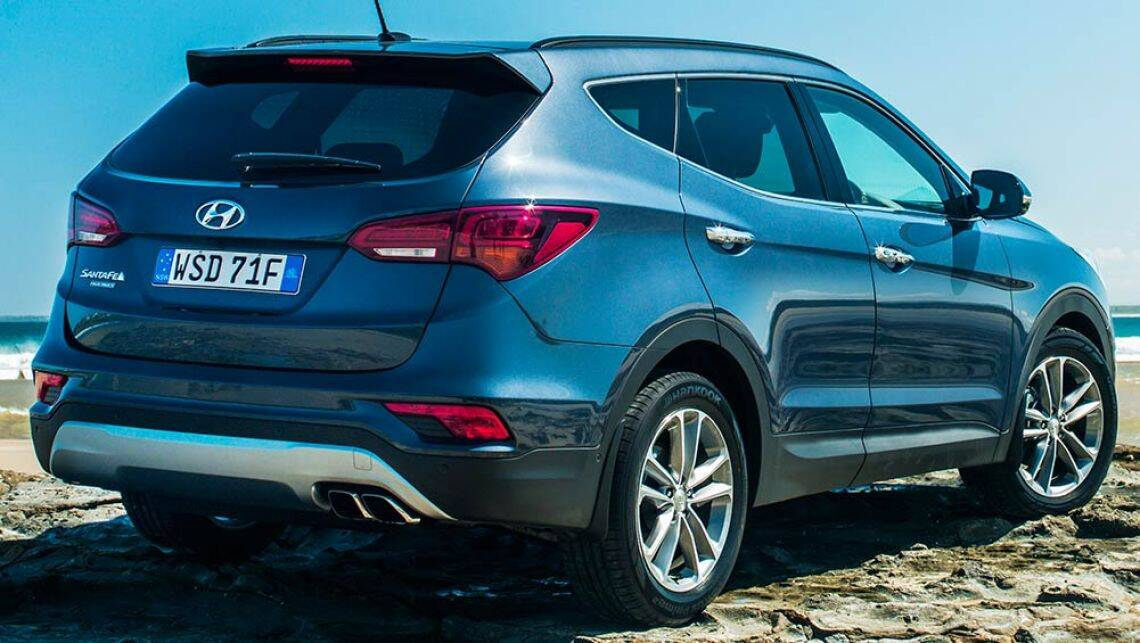 2015 hyundai santa fe series ii review first drive video carsguide. Black Bedroom Furniture Sets. Home Design Ideas