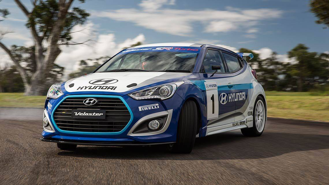 Hyundai Veloster Turbo review   track prototypes   CarsGuide
