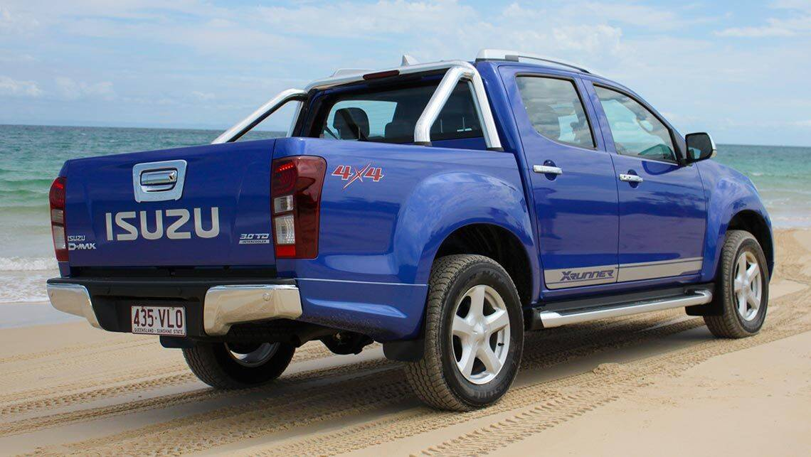 2015 isuzu d max and mu x review off road carsguide. Black Bedroom Furniture Sets. Home Design Ideas