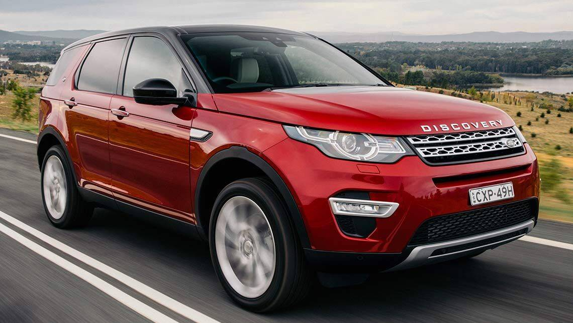 2015 land rover discovery sport review carsguide. Black Bedroom Furniture Sets. Home Design Ideas