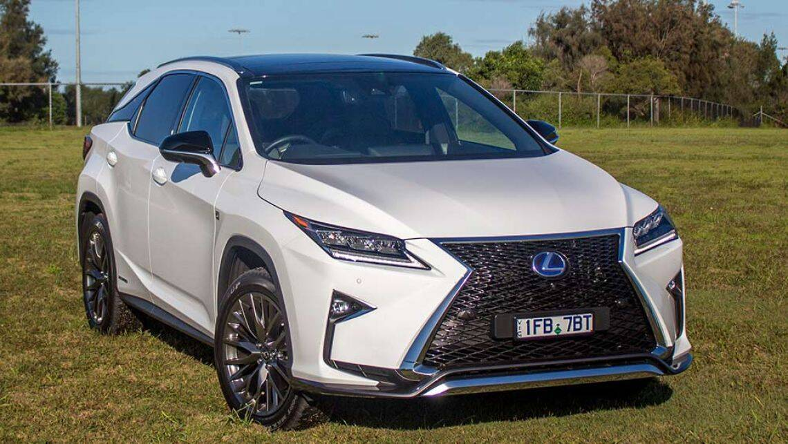 2016 lexus rx 450h f sport review road test carsguide. Black Bedroom Furniture Sets. Home Design Ideas