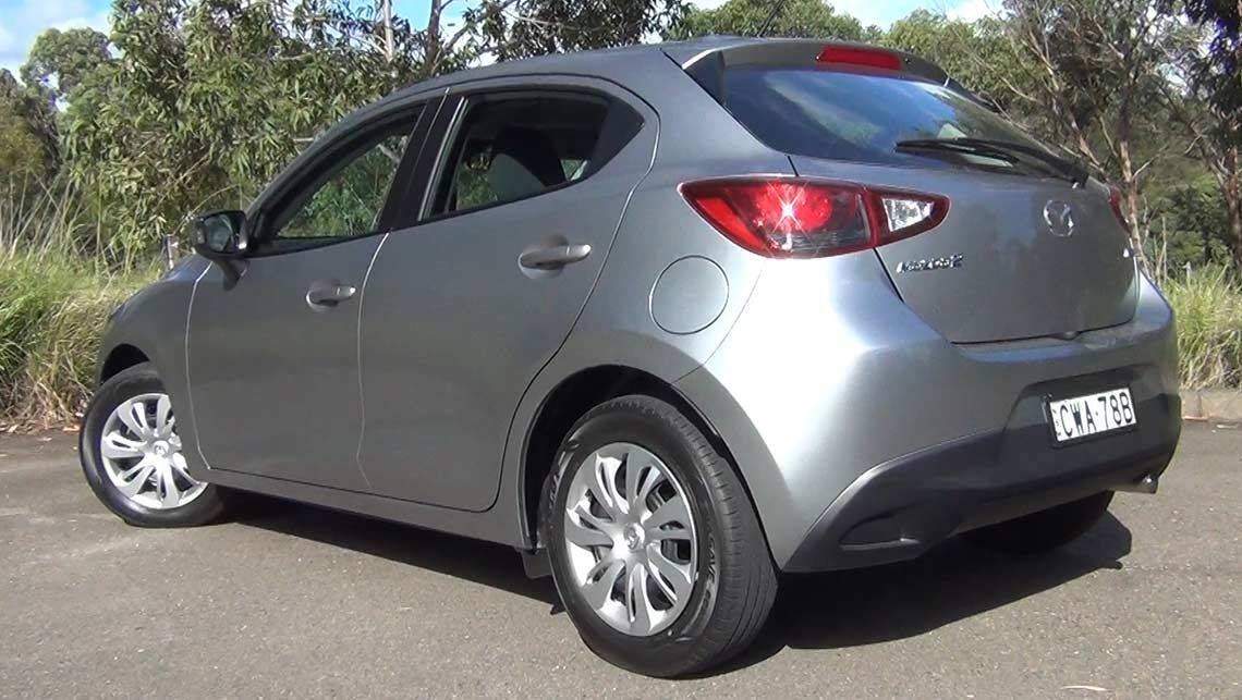 2015 mazda 2 neo review road test carsguide. Black Bedroom Furniture Sets. Home Design Ideas