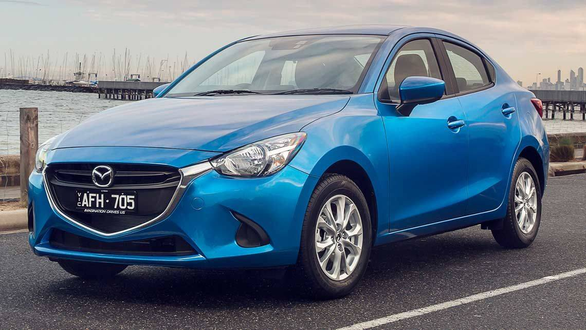 2015 mazda 2 sedan review carsguide. Black Bedroom Furniture Sets. Home Design Ideas