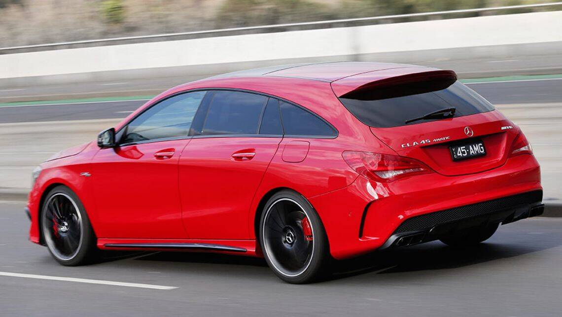 2016 mercedes benz cla 45 amg shooting brake review road. Black Bedroom Furniture Sets. Home Design Ideas