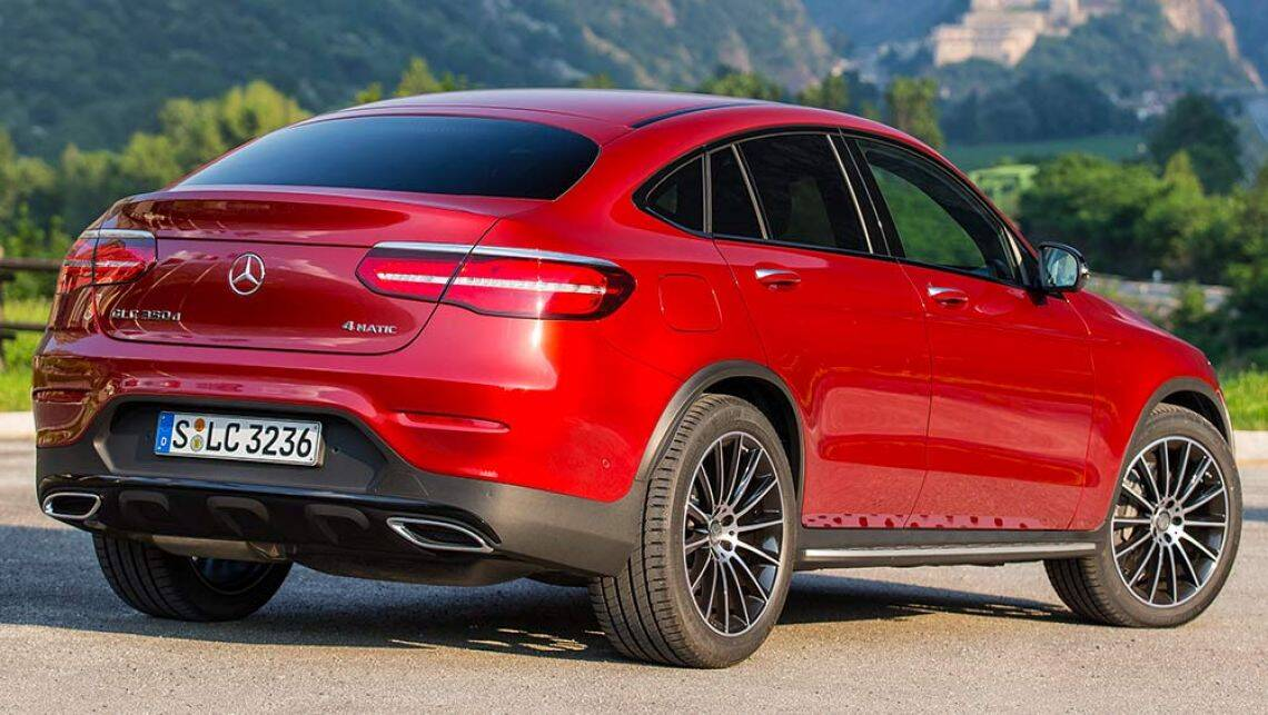 Mercedes benz glc coupe 2016 review first drive carsguide for Mercedes benz big car