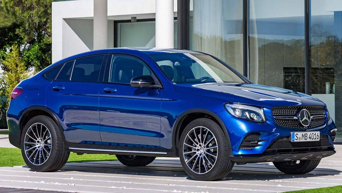 2016 mercedes glc coupe unveiled at the new york motor - Mercedes car show ...