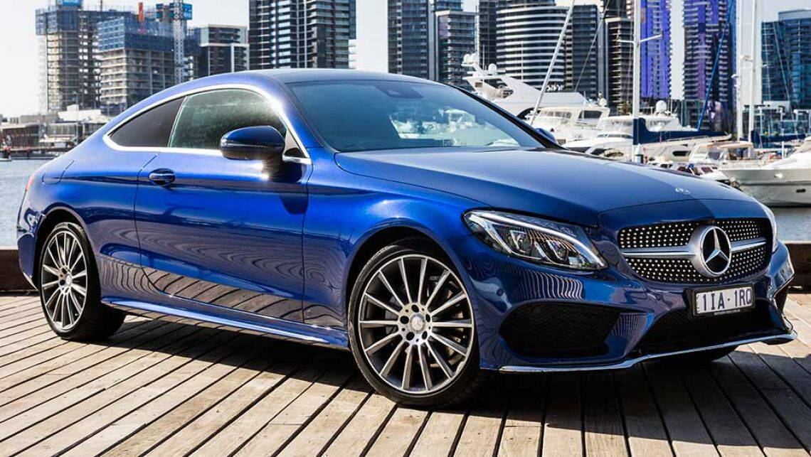 2016 mercedes benz c class coupe review first australian