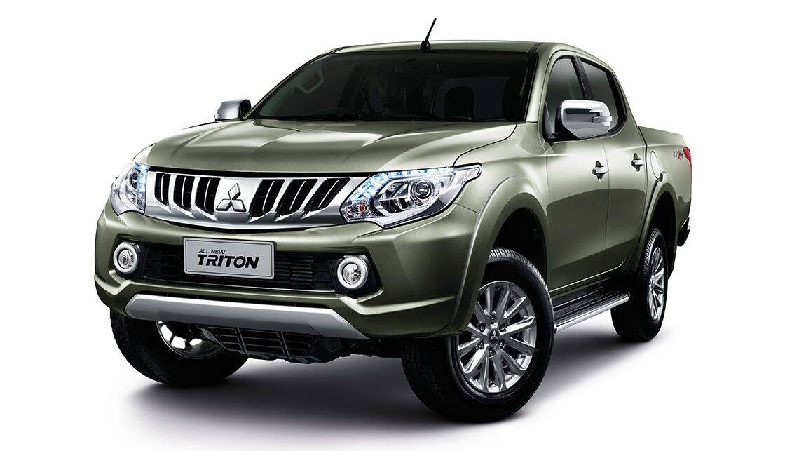2015 Mitsubishi Triton revealed - Car News | CarsGuide