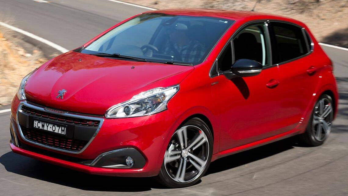 2016 peugeot 208 gt line review road test carsguide. Black Bedroom Furniture Sets. Home Design Ideas