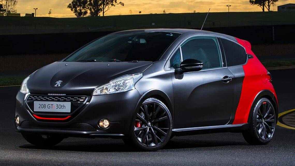 2016 peugeot 208 gti 30th anniversary review road test. Black Bedroom Furniture Sets. Home Design Ideas