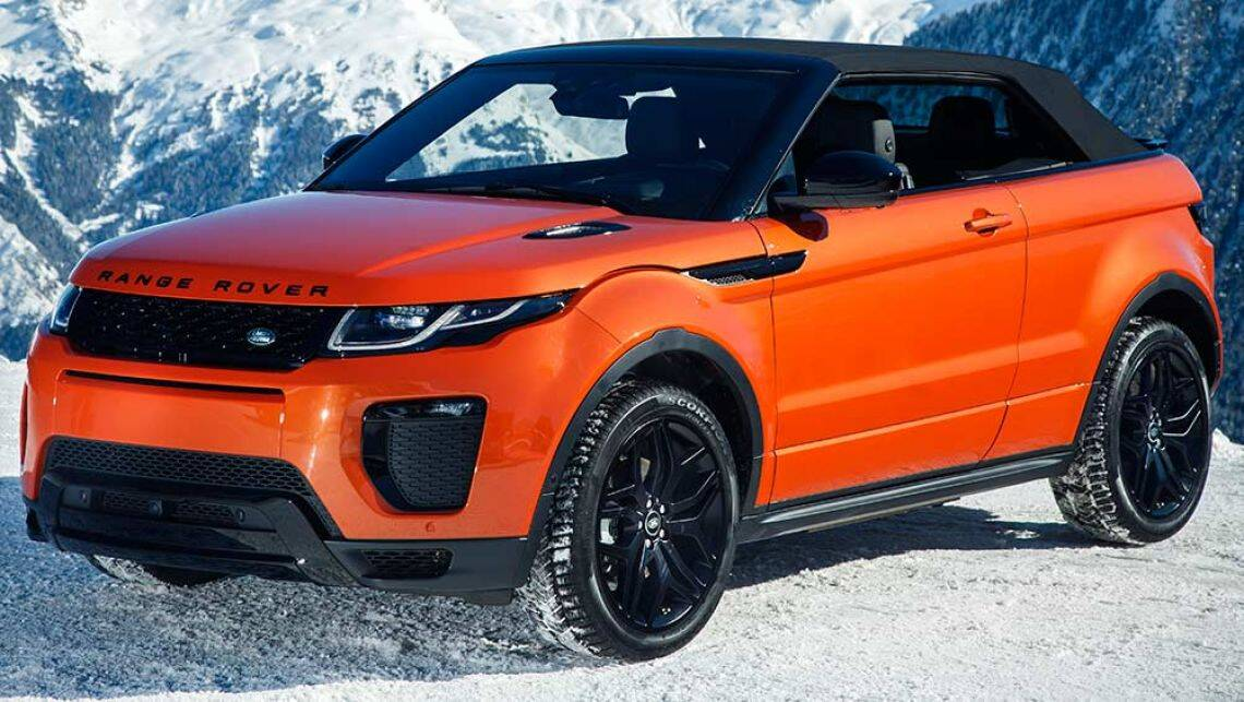2016 land rover range rover evoque convertible review. Black Bedroom Furniture Sets. Home Design Ideas