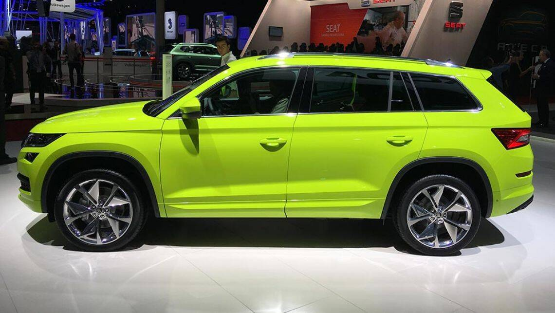 Skoda Kodiaq Rs Suv On The Cards Car News Carsguide