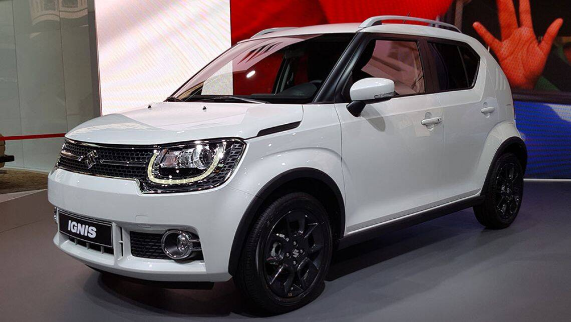 2017 suzuki ignis confirmed for australia car news. Black Bedroom Furniture Sets. Home Design Ideas