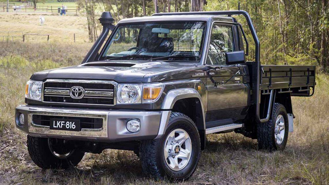 toyota landcruiser 70 series gets stability and traction control car news carsguide. Black Bedroom Furniture Sets. Home Design Ideas