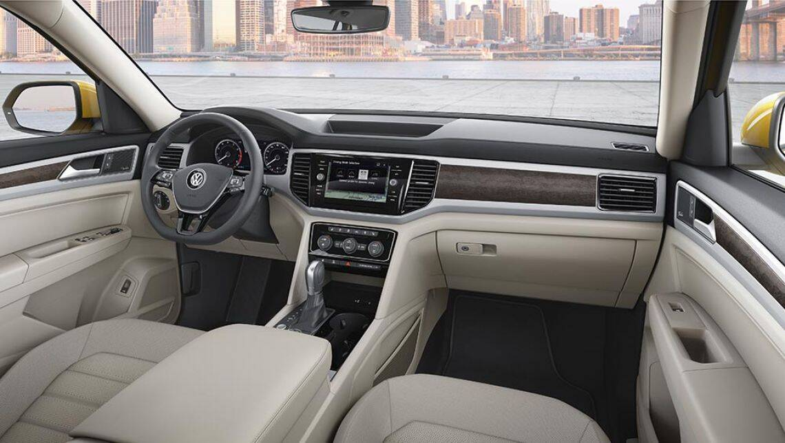 Volkswagen Atlas Seven Seat Suv Revealed Car News Carsguide