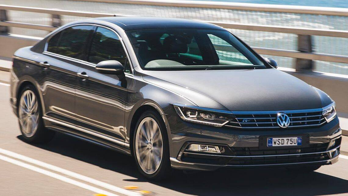 2016 vw passat 140tdi highline review road test carsguide. Black Bedroom Furniture Sets. Home Design Ideas