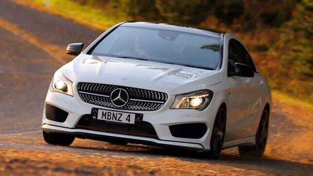 2014 mercedes benz cla 250 sport review carsguide for Mercedes benz cla 250 sport for sale