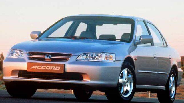 Used car review honda accord 1993 1997 carsguide for Used car commercial 1996 honda accord