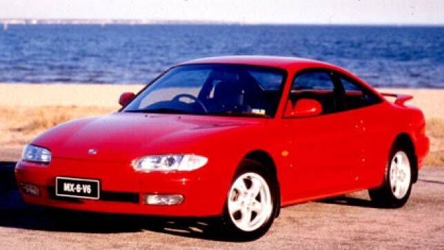 Used car review Mazda MX6 1991-1997   CarsGuide