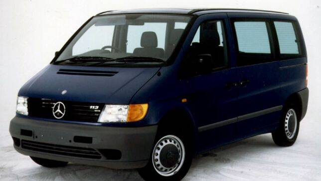 Used car review mercedes benz vito 1998 2004 carsguide for Mercedes benz vito review