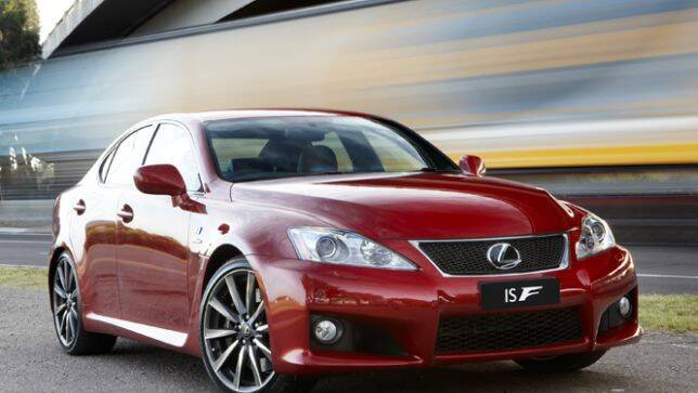in the garage lexus is f carsguide. Black Bedroom Furniture Sets. Home Design Ideas