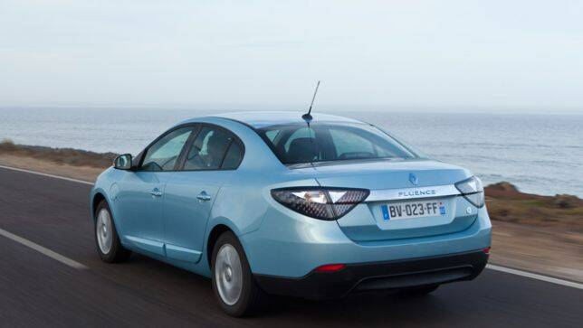 renault fluence ze review carsguide. Black Bedroom Furniture Sets. Home Design Ideas