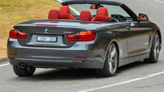 2014 bmw 4 series convertible review carsguide. Black Bedroom Furniture Sets. Home Design Ideas