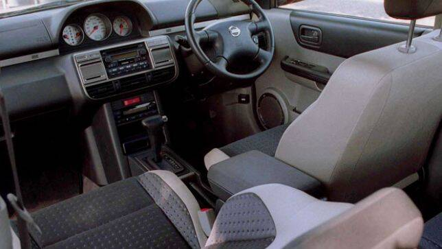 Used car review nissan x trail 2001 2003 carsguide for Nissan x trail interior