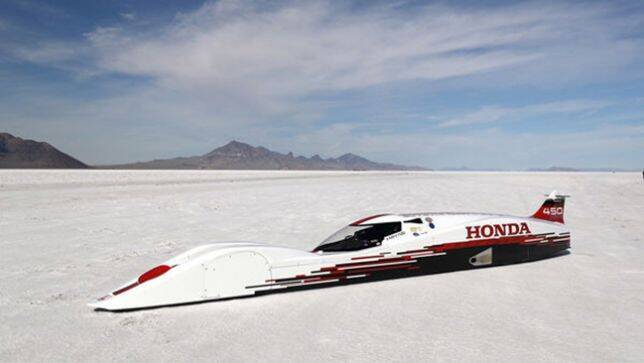 0.6-Litre Three-Cylinder Honda Sets World Speed Records