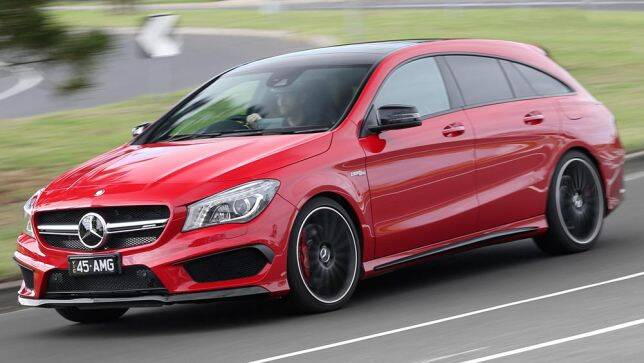 2015 mercedes benz cla 45 amg 4matic shooting brake review road test carsguide. Black Bedroom Furniture Sets. Home Design Ideas