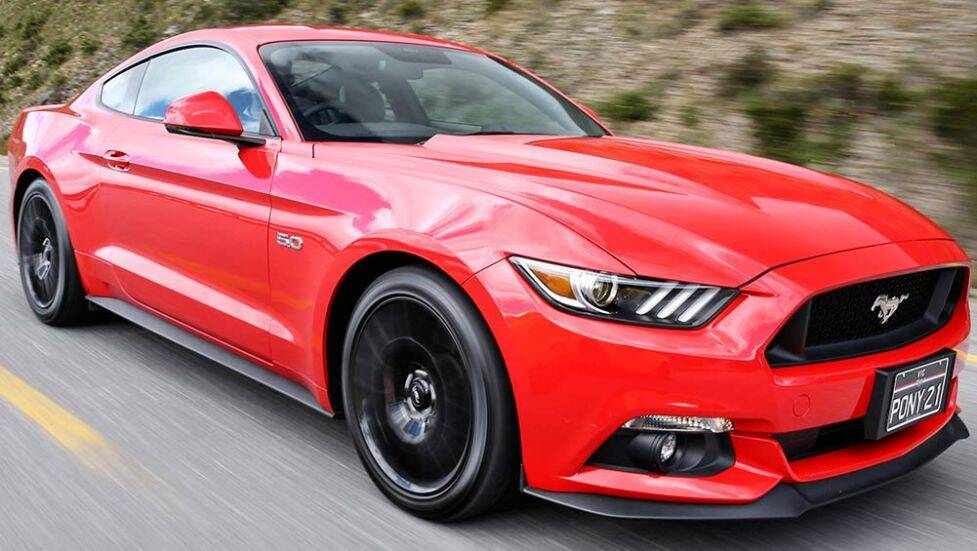 2016 Ford Mustang V8 GT coupe review | road test 10 June 2016 by Paul