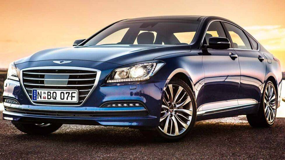 2015 hyundai genesis review first drive carsguide. Black Bedroom Furniture Sets. Home Design Ideas