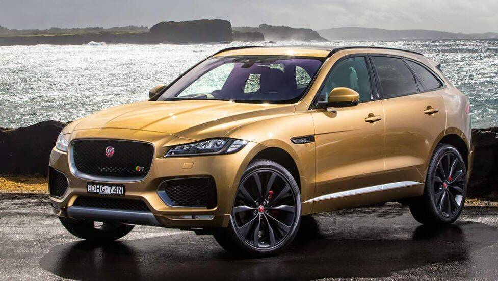 2016 jaguar f pace review first drive carsguide. Black Bedroom Furniture Sets. Home Design Ideas